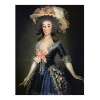 Francisco Goya- Duchess Countess of Benavente Postcard