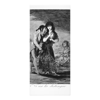 Francisco Goya- Even so he cannot make her out Rack Cards