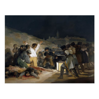 Francisco Goya-Execution of Defenders of Madrid Postcard
