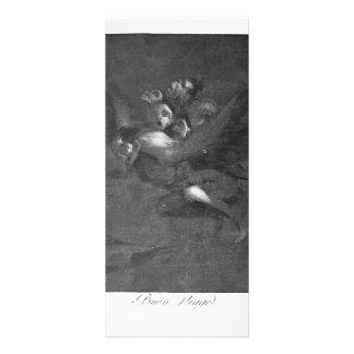 Francisco Goya- Farewell Customized Rack Card