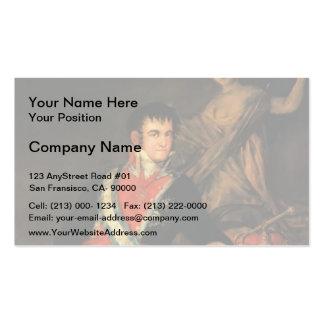 Francisco Goya- Fernando VII Business Card Template