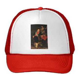 Francisco Goya- Fernando VII Mesh Hats