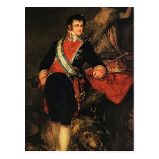 Francisco Goya- Fernando VII Postcard