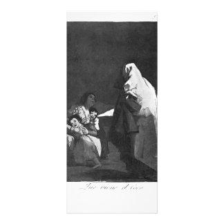 Francisco Goya- Here comes the bogey-man Rack Card