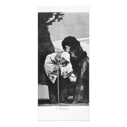 Francisco Goya- Hush Customized Rack Card