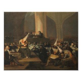 Francisco Goya - Inquisition Scene Art Photo