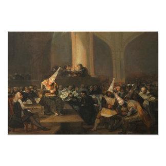 Francisco Goya - Inquisition Scene Photo Art