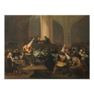 Francisco Goya - Inquisition Scene Photograph