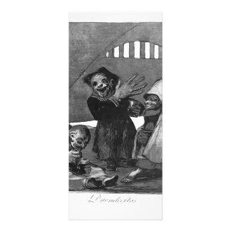 Francisco Goya- Little goblins Custom Rack Card