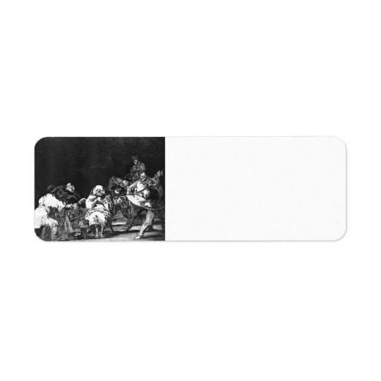 Francisco Goya- Loyalty Return Address Label
