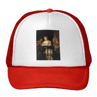 Francisco Goya- Maja and Celestina on a Balcony Trucker Hat