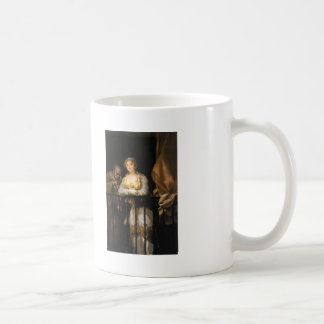 Francisco Goya- Maja and Celestina on a Balcony Coffee Mug