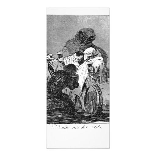 Francisco Goya- No one has seen us Rack Cards