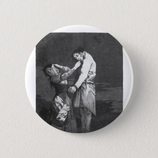 Francisco Goya- Out hunting for teeth 2 Inch Round Button