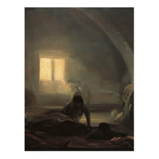 Francisco Goya- Plague Hospital Postcard