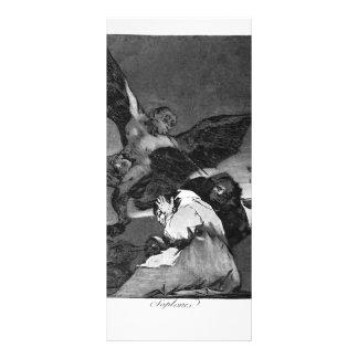 Francisco Goya- Squealers? Rack Card Template