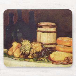 Francisco Goya- Still life fruit, bottles, breads Mouse Pad