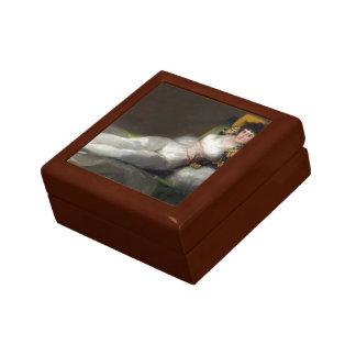 Francisco Goya- The Clothed Maja Jewelry Boxes