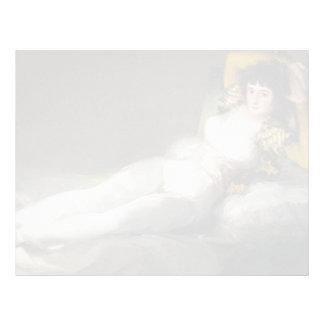 Francisco Goya- The Clothed Maja Letterhead