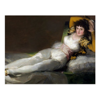 Francisco Goya- The Clothed Maja Postcard
