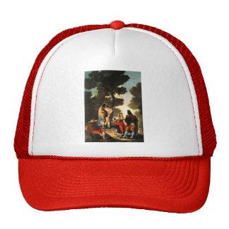 Francisco Goya- The Maja and the Masked Men Mesh Hats