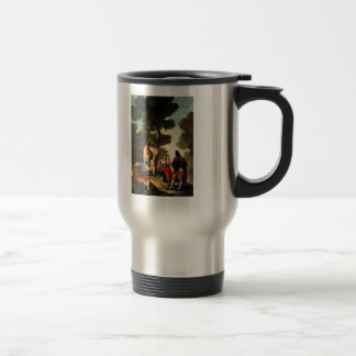 Francisco Goya- The Maja and the Masked Men Coffee Mug
