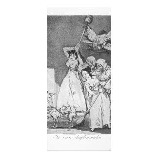 Francisco Goya- They already go plucked Rack Card