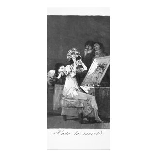 Francisco Goya- Till death Rack Card Template