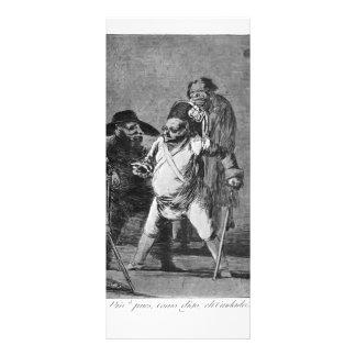 Francisco Goya- unknown Customized Rack Card