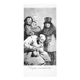 Francisco Goya- Why hide them? Rack Cards