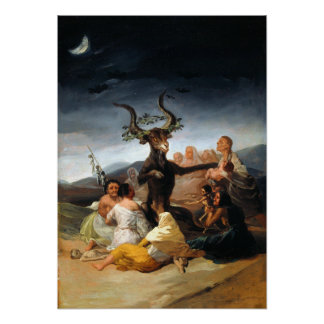 Francisco Goya Witches' Sabbath Poster