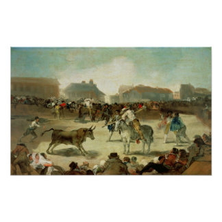 Francisco Jose de Goya | A Village Bullfight Poster