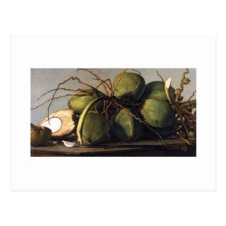 Francisco Oller Cocos Postcard