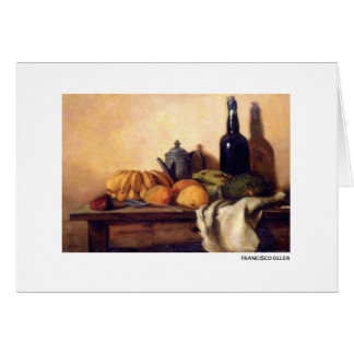 Francisco Oller Still Life Guanabana Card