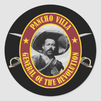 "Francisco ""Pancho"" Villa Classic Round Sticker"