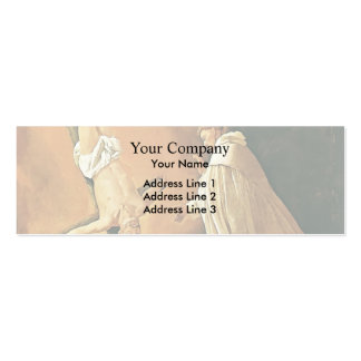 Francisco Zurbaran- Appearance of St. Peter Business Card Templates