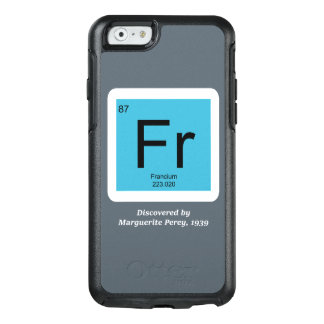 Francium - Discovered by Marguerite Perey OtterBox iPhone 6/6s Case