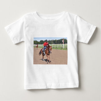 Franco in the First Baby T-Shirt