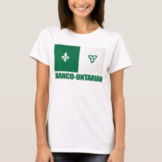 Franco-Ontarian Flag T-Shirt