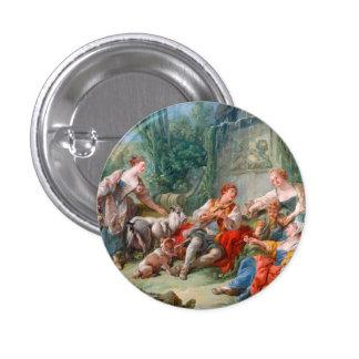 francois boucher shepherd s idyll rococo scenery pinback buttons