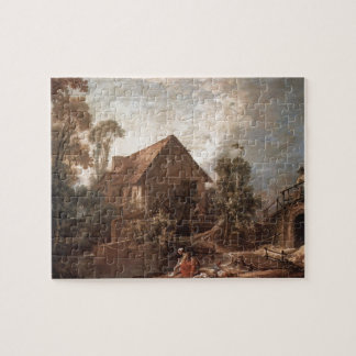 Francois Boucher - The Mill Jigsaw Puzzle