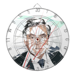 Francois Fillon before Pénélope Spoils Dartboard