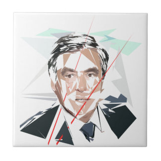 Francois Fillon before Pénélope Spoils Tile
