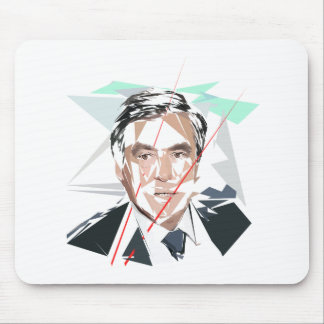 Francois Fillon before pénéloppe spoils Mouse Pad