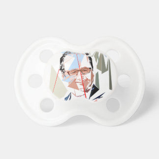 François Hollande Baby Pacifiers