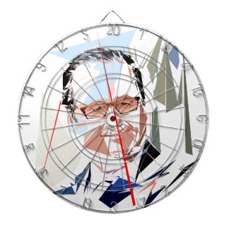 François Hollande Dartboard