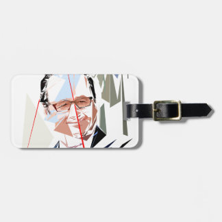 François Hollande Luggage Tag