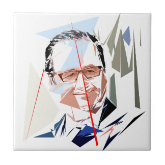 François Hollande Tile