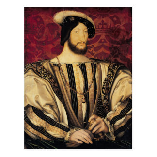 Francois I Postcard