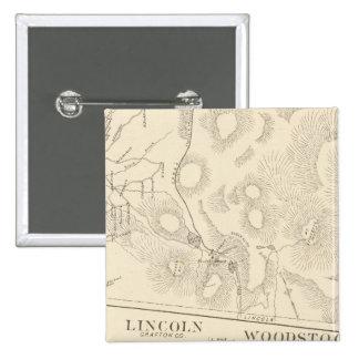 Franconia Lincoln Woodstock Badges Avec Agrafe